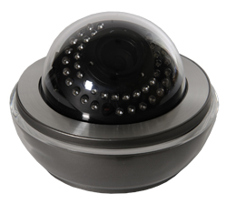 Caméras dômes avec infrarouges